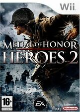 MEDAL OF HONOR HEROES  2 JEU WII NEUF