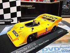 PORSCHE 917/10 917 /10 Bosch Kauhsen interserie #2 Nbring 1973 Minichamps 1:43