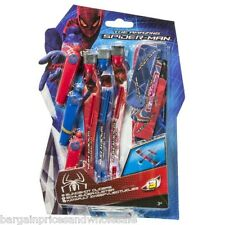 Marvel Amazing Spiderman 3 Sling Shot Gliders Outdoor Toy Air