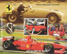 100th ANNIVERSARY OF THE FERRARI CAR SCHUMACHER 1998 MNH STAMP SHEETLET