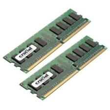 Crucial 2GB Kit (2x1GB) DDR2 =