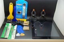 ipad 4 digitizer black  replacement set & tools,home button &adhesive installed