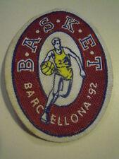 TOPPA PATCH - BASKET - OLIMPIADI DI BARCELLONA 1992 - GIO-12