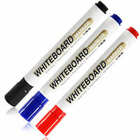 White Board Whiteboard Marker Pens Dry Erase Easy Wipe Round Bullet Tip Supply