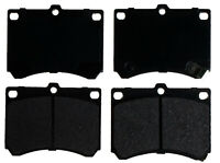 Disc Brake Pad Set-Semi Metallic Disc Brake Pad Front ACDelco Advantage 14D473M