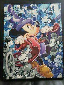 Disney Fine Art Celebrate The Mouse Canvas Wrapped Print Signed Tim Rogerson