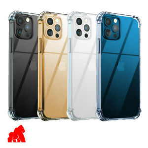 Phone Case For Huawei P Smart 2020 Shockproof Clear + Free Tempered Glass NEW!