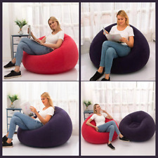 Large Bean Bag Lazy Chairs Inflatable Sofa Lounger Seat Pouf Couch Living Room