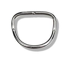 """Stainless Steel 2"""" D-Ring Bend 45° (Weight Belt, SS, S/S 2 in D-rings)"""