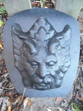 Gostatue MOLD plaster concrete  mold entryway greenman plastic mold