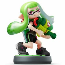 Amiibo Splatoon 2 Neon Green Inkling Girl Squid Nintendo Switch USA VERSION