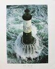 Jean Guichard Lithograph Poster Ar-Men Lighthouse Ocean France 1999