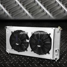 For 95-05 Chevy Blazer/S10 Gmc Sonoma/Jimmy Aluminum 3-Row Radiator+Cooling Fan (Fits: Isuzu)