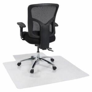 J.Burrows 1140x1340 Hard Floor Anti-static Keyshape Chair Mat