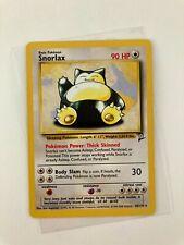 New ListingPokemon 2000 English Snorlax 30/130 Base 2nd Ed Nintendo Wizards Tcg Vtg card �