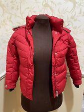 Bogner Coyote Fur trim Winter Down Filled Ski Jacket Coat Youth M Barely Used!
