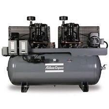 Atlas Copco AR15 7.5-HP / 15-HP 120-Gallon Two-Stage Duplex Compressor