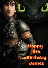 HOW TO TRAIN YOUR DRAGON  HICCUP A5 BIRTHDAY CARD WITH COLOURING PICTURE