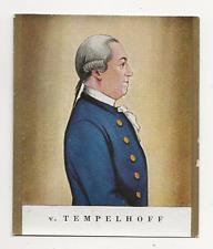 62/500 SAMMELBILD v. TEMPELHOFF GENERALLEUTNANT FRISUR