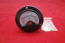 Ac 0 15v Round Analog Voltmeter Voltage Panel Meter Dia 664mm Dh52