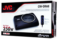 "JVC CW-DRA8 8"" Compact Powered Subwoofer 250watts Max"