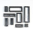 US Stock 45pcs Adapter Solder Type DIP IC Sockets 8,14,16,18,20,24,28,32,40 PIN