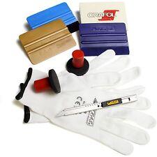 Profi Car Wrap Folier Set 3M Folierset Filz Rakel Olfa 30 Grad Cutter Handschuhe