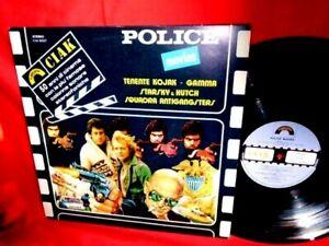 POLICE MOVIES OST LP 1981 ITALY MINT Morricone Cipriani Mark il poliziotto RARE!