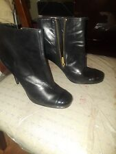 Guess by Marciano leather ankle booties sz 8