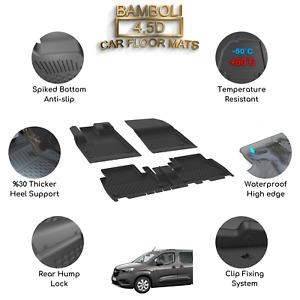 Premium 4,5D Car Floor Mat for Opel Combo 2019