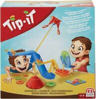 Mattel Tip-It Games FLK86 Toy Multicolour Brand New In Box Board Game #NG
