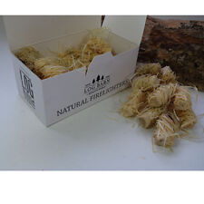 40 Pieces. Natural Firelighters / Flamers For Fires