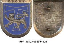 E.S.O.A.T, lion gravé,dos guilloché embouti,G2551 horizontal, Drago Paris (2079)