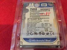 "Western Digital Scorpio Blue WD2500BEVT 2.5"" 250GB 5400RPM SATA 3G/s"