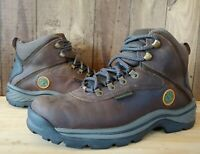 Timberland  Mens White Ledge Waterproof Hiking Work Boots 7 Wide Brown 12135
