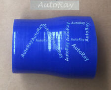2.5 to 3 inch Straight Silicone Hose Reducer 63-76mm Coulper pipe Blue