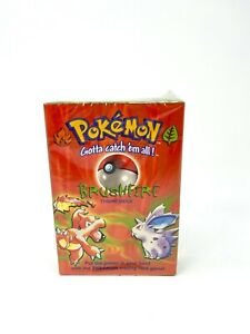 NEW Sealed MINT Pokemon Potential Shadowless BUSHFIRE Theme Starter Deck 🔥