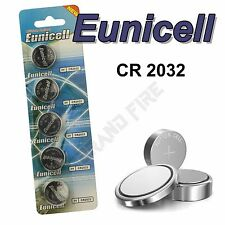 5 X Eunicell CR2032 Replacement Batteries for Selfie Stick