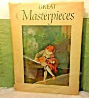 Abrams Art Book Great Masterpieces 16 Beautiful Full Color Prints