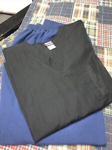 XL Cherokee Scrub Set Navy & Black