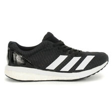 Adidas Men's Adizero Boston 8 Core Black/Cloud White/Grey Six Running Shoes G...