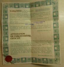 Vintage Rolex 16013 Datejust Mens Paper Used Fur samler 1987 (WX11)
