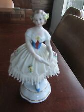 Sitzendorf Dresden Germany Lady Ballerina Antique Porcelain Rare Late 1800's Old