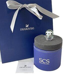 Authentic Swarovski Baby Picco SCS Crystal Penguin Figure Boxed
