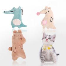 Cartoon Animal Cat Toy Catnip Cute Plush Pet Kitten Funny Interactive Toys Cl MW