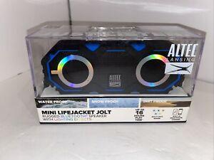 Altec Lansing Mini Lifejacket Jolt Rugged Portable Bluetooth Speaker Blue