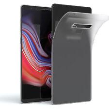EAZY CASE Samsung Galaxy Note 9 Hülle Silikon Cover Handy Tasche Slim Matt Klar