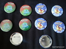 Pokemon Pikachu Party Supplies 12 PINS Buttons FAVORS Treats Birthday Bulbasaur
