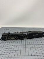 Ho Scale 4-6-2 Steam Locomotive Vintage Not Running Atsf Decal Die Cast R09