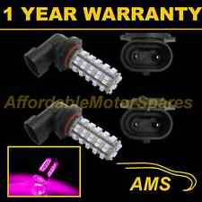 2X H10 PINK 60 LED FRONT FOG SPOT LAMP LIGHT BULBS HIGH POWER KIT XENON FF500601